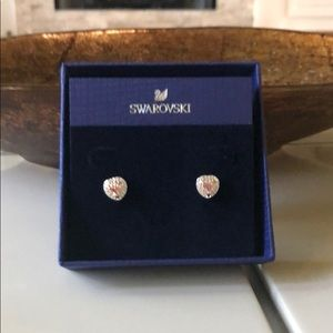 NWT- Swarovski Stud Earrings